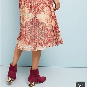 Anthropologie Akemi & Kin Laurel Canyon Skirt